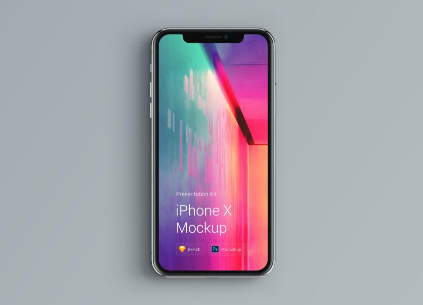 Des maquettes iPhone XS et X pour vos designs d'app