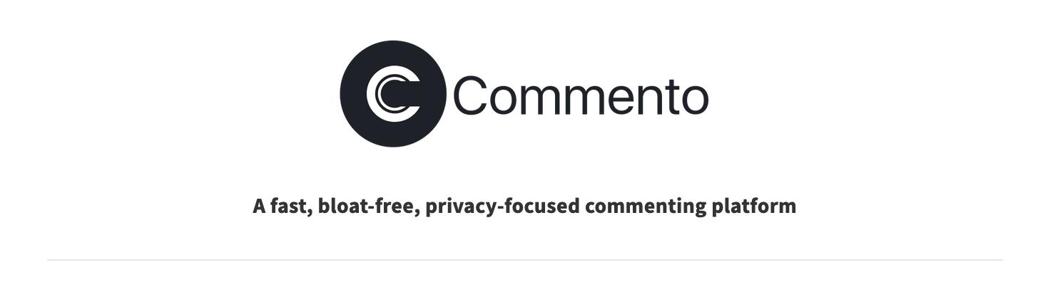 Commento – Un clone libre de Disqus qui s'intègre sur n'importe quel site en quelques secondes