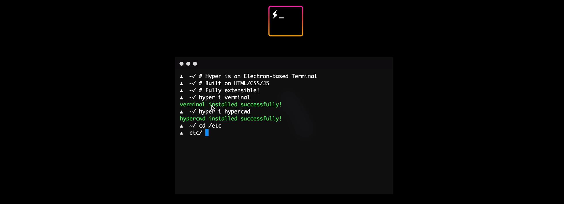 Hyper – Un terminal entièrement customisable selon vos envies et besoins