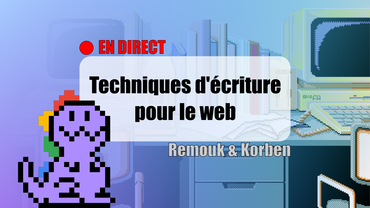 Webosaures – Techniques d'écriture pour le web