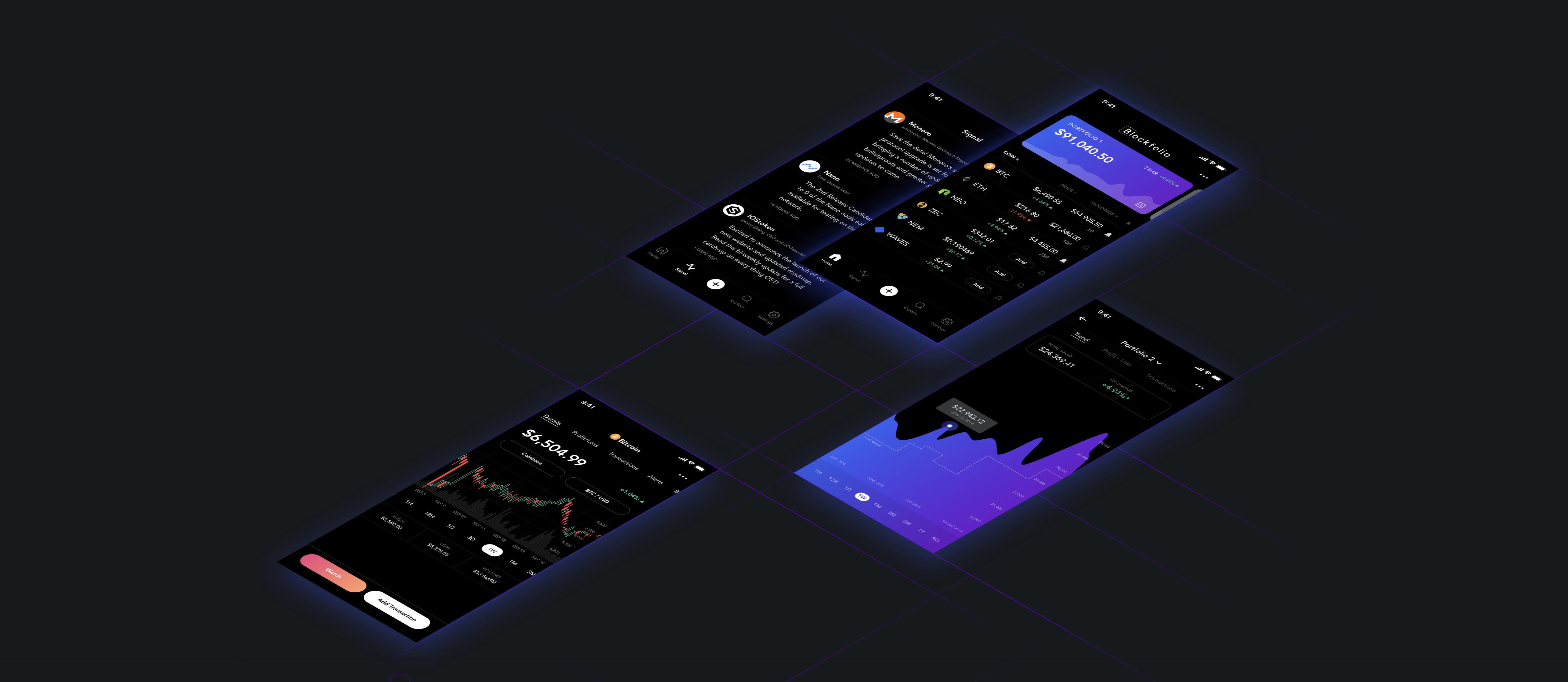 Blockfolio – Pour surveiller votre portefeuille de cryptomonnaies