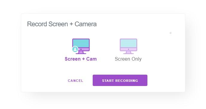 Enregistrer avec webcam ou sans