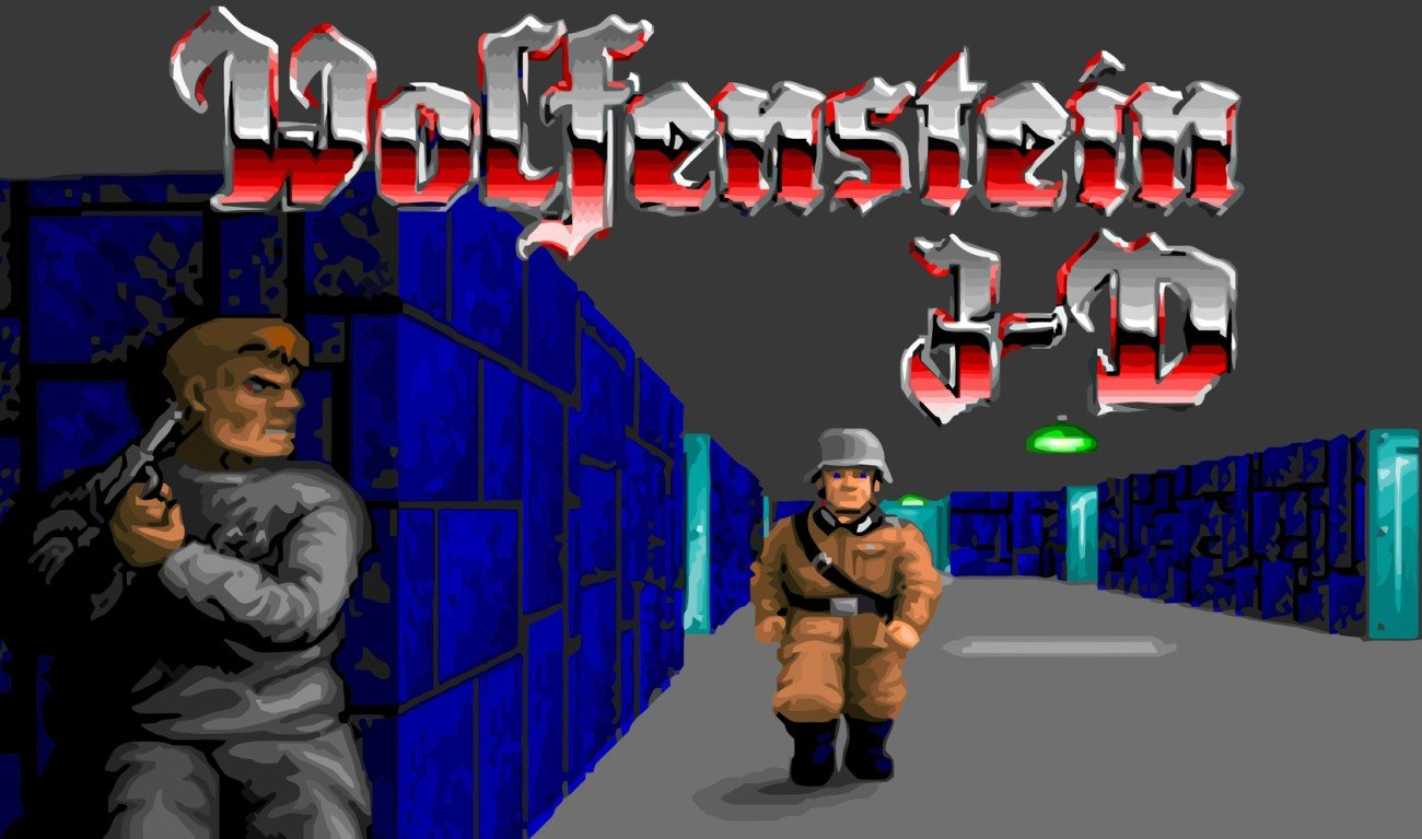 FPS dans le navigateur #1 : Wolfenstein 3D