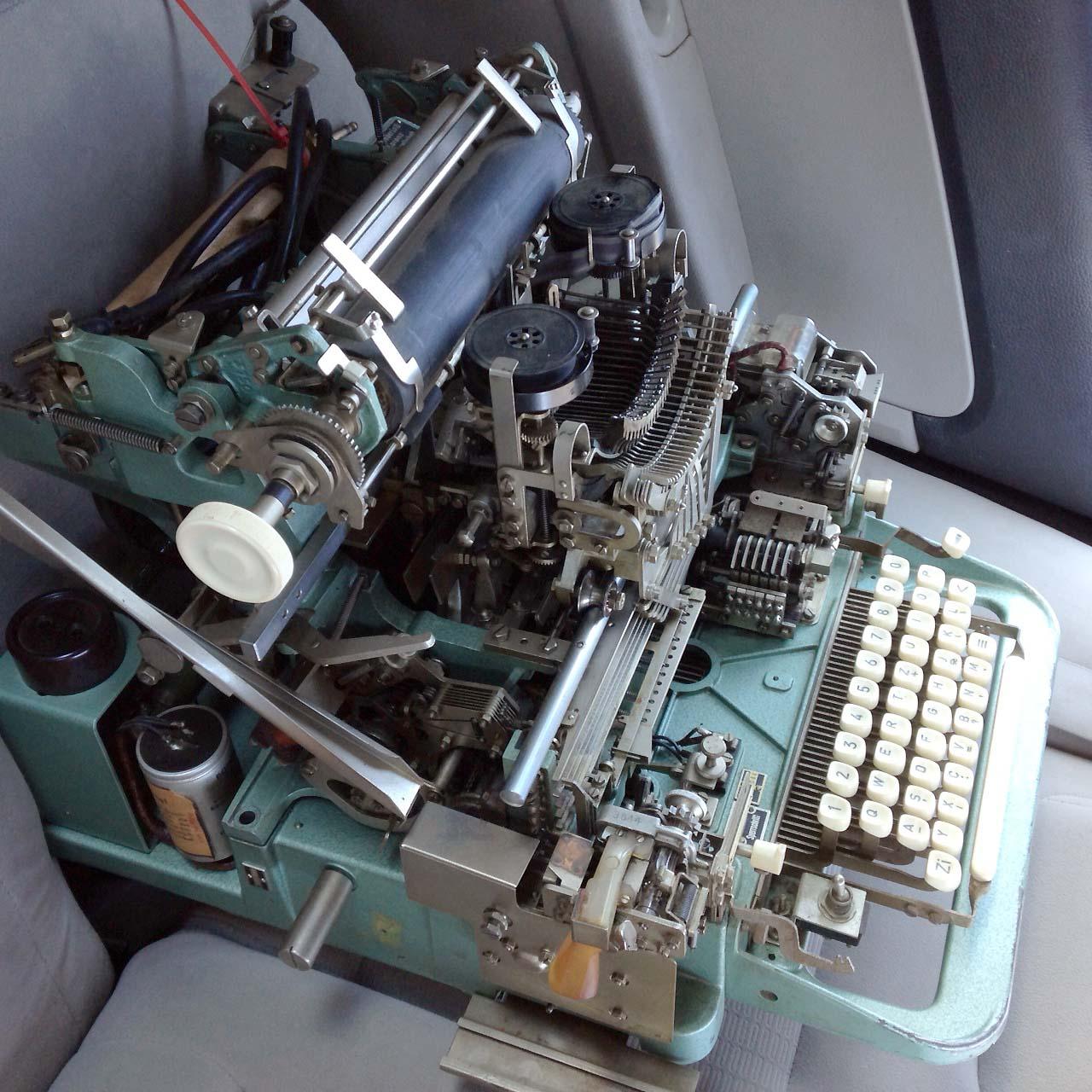 Un terminal Linux sur papier #retro