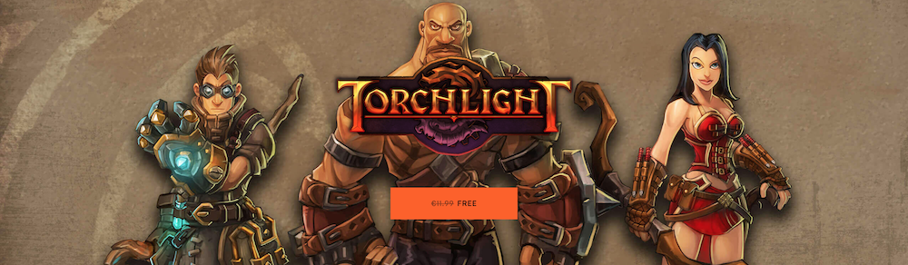 Le jeu Torchlight en téléchargement gratuit