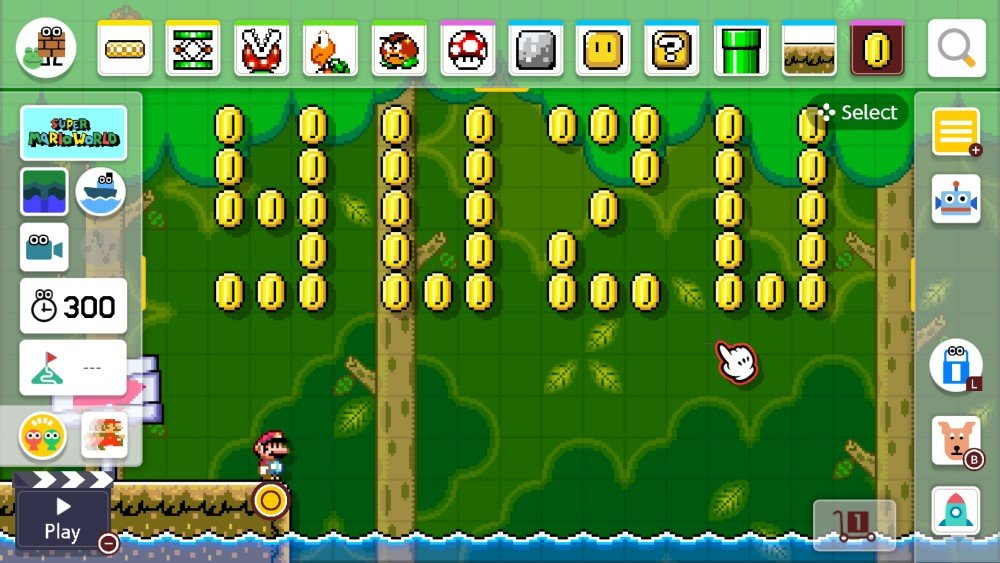 Super Mario Maker sur Yuzu