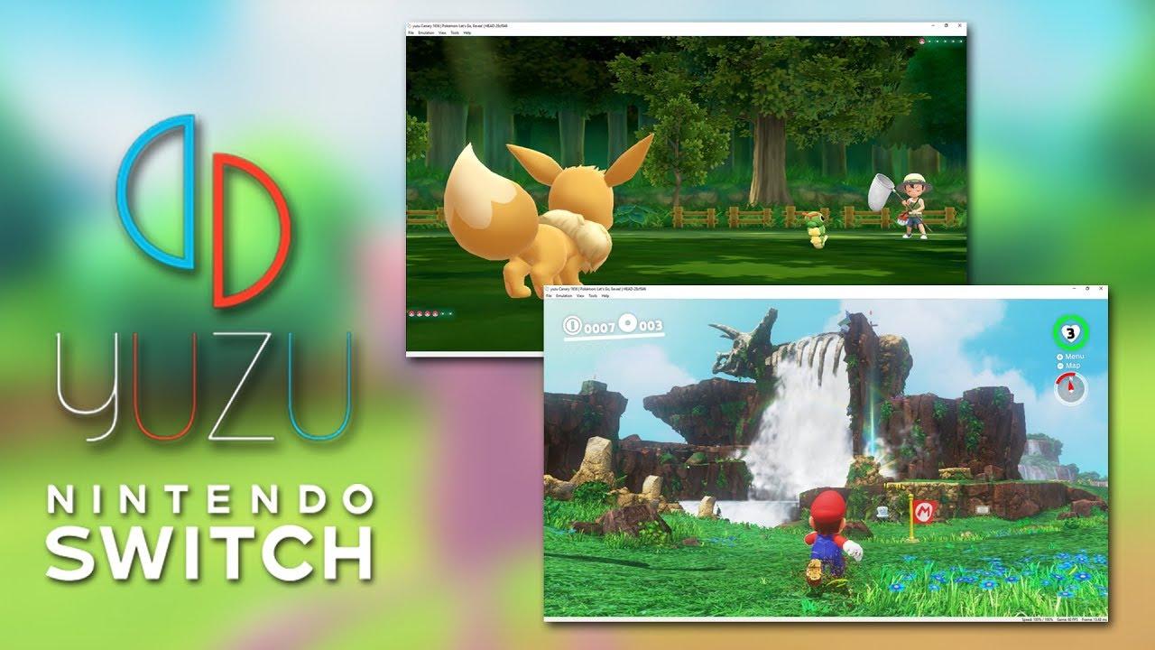 Yuzu, l'émulateur Nintendo Switch pour PC