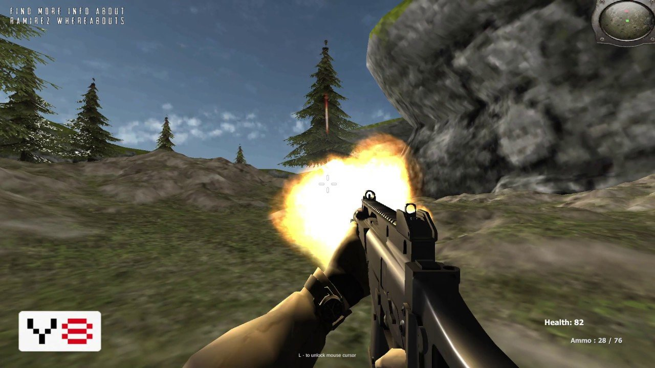 First Person Shooter FPS Agency Forest