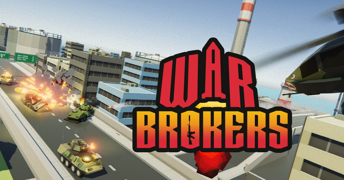 Jeu FPS Gratuit War Brokers