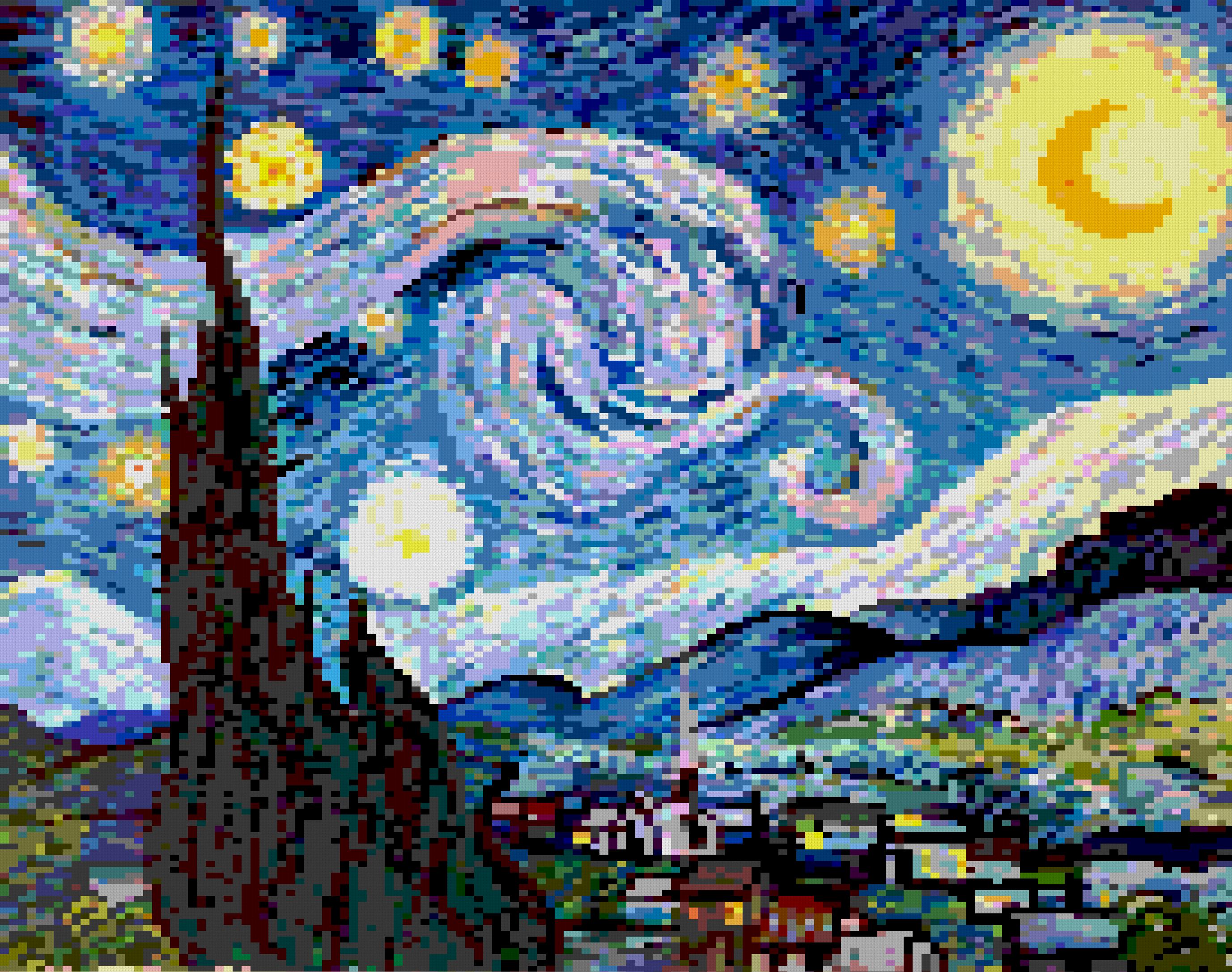 Tiler – Pour générer des images mosaïques avec n'importe quelle forme