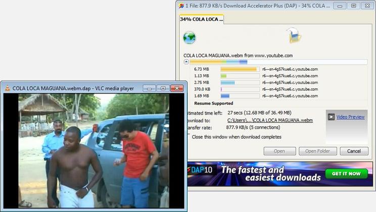 Gestionnaire de téléchargement Download Accelerator Plus