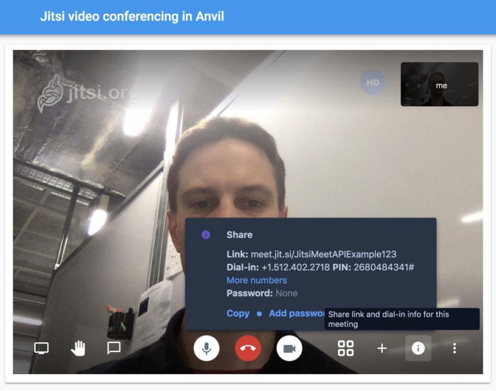 Vidéo conférence avec Jitsi