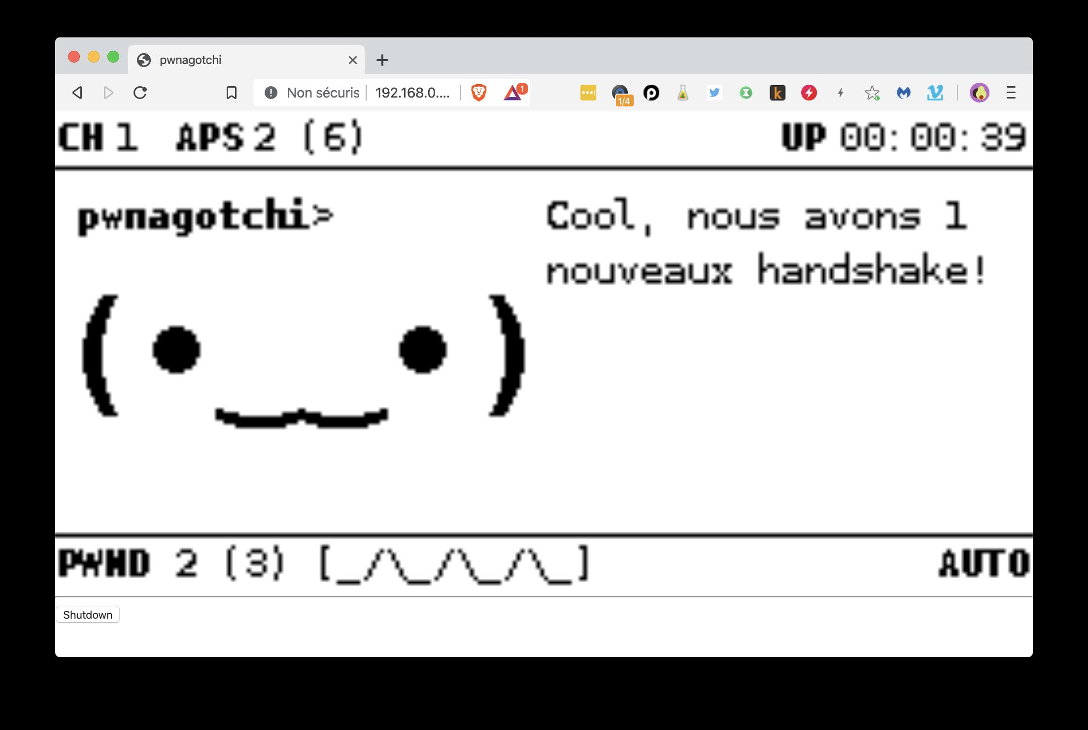 @Pwnagotchi – Pwnage wifi à base de deep learning sur Raspberry Pi