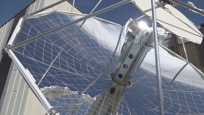 Réacteur solaire Suisse
