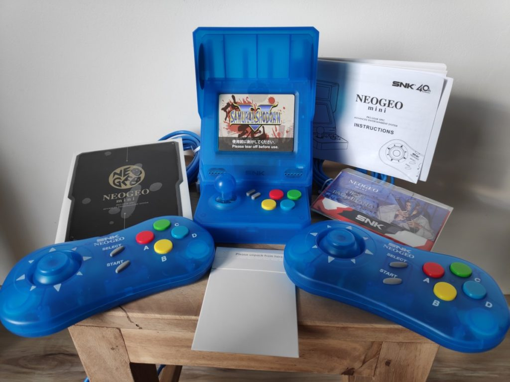éléments de la neo geo mini samourai showdown ukyo