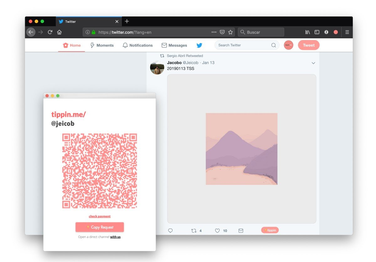 Tippin.me – Le service qui vous permet d'effectuer des dons en Bitcoin sur Twitter