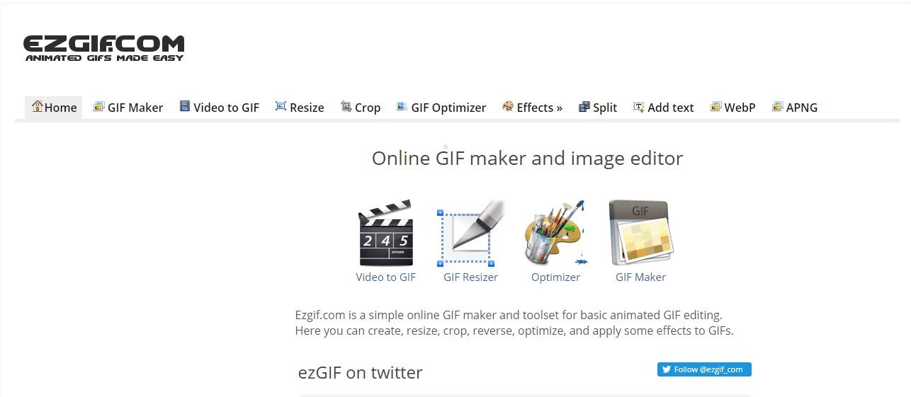 Créez et éditez vos GIF animés avec la boite à outils complète Ezgif