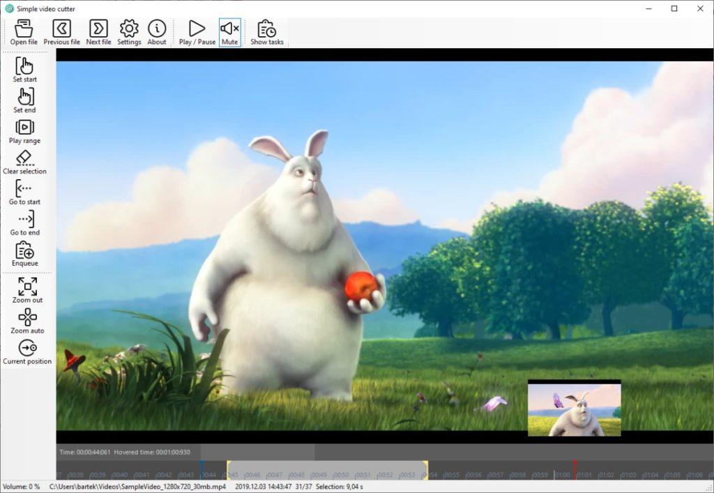 SimpleVideoCutter pour éditer vos vidéos sous Windows