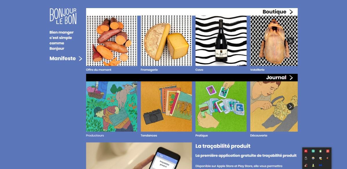 La blockchain au service du bien manger made in France avec Bonjour le Bon