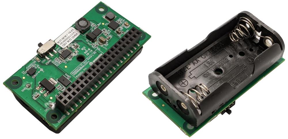 Faire fonctionner un Raspberry Pi Zero avec 2 piles AA
