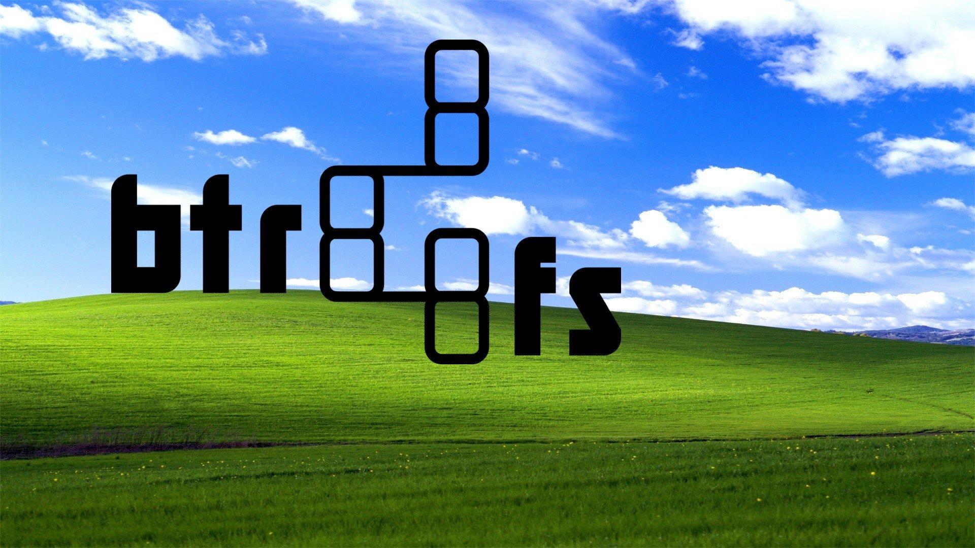 Faire tourner Windows sur une partition Btrfs c'est possible !