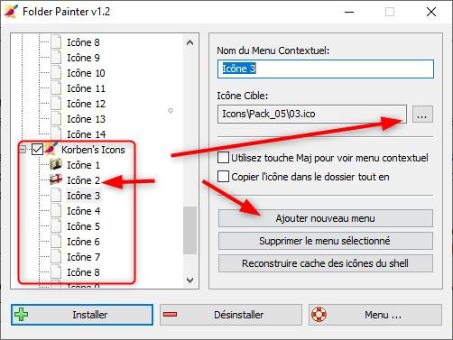 Personnaliser ses icônes avec Folder Painter