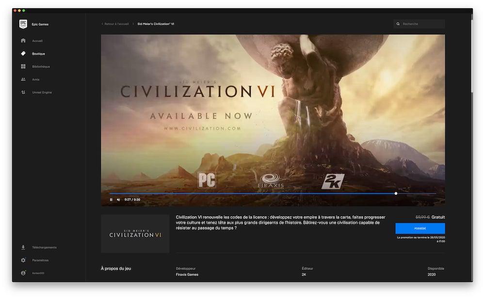 Télécharger Civilization VI gratuitement ! (vidéo) By Korben Korben20200417144706-60
