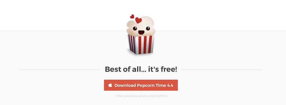 Popcorn Time est de retour sur Github