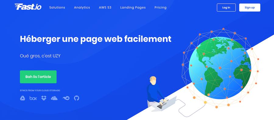 Comment héberger gratuitement une simple page statique sur un nom de domaine ?