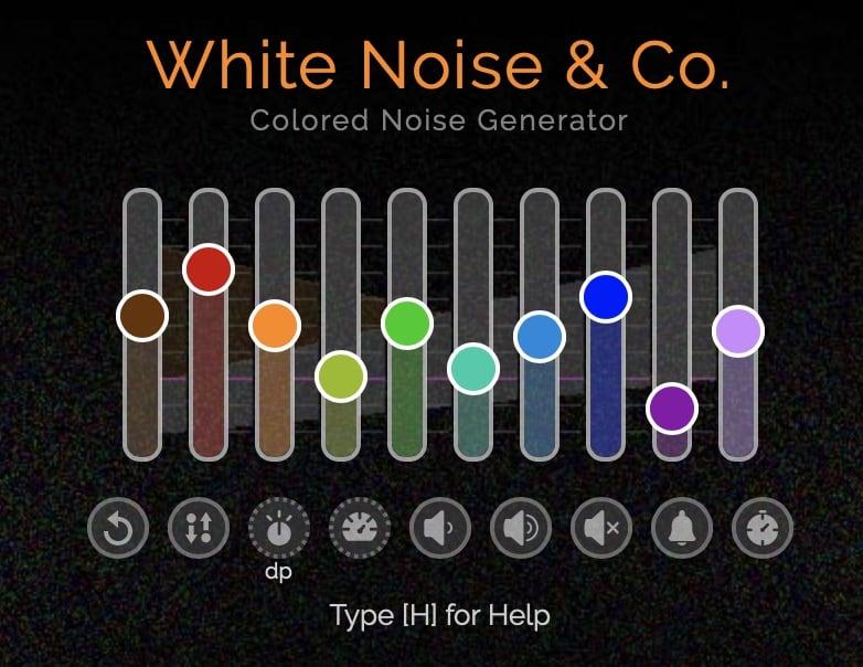générateur de bruits blancs