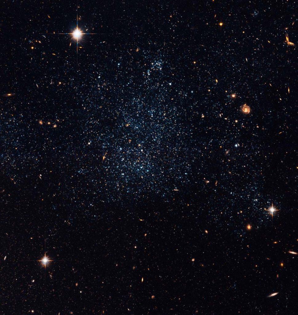 Vue de la galaxie naine Holmberg 19