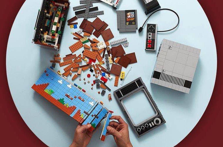 pièces lego NES