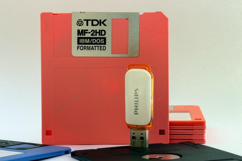 Émuler une disquette avec une clé USB
