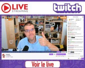 Korben en live sur Twitch !