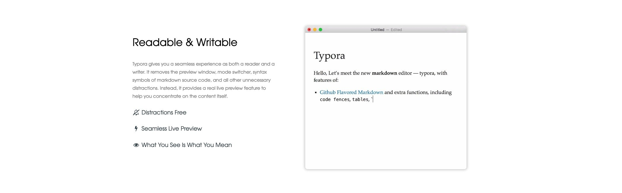 Typora – L'éditeur Markdown petit mais costaud