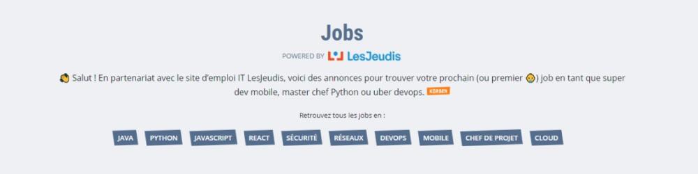 Offres LesJeudis sur Korben.info