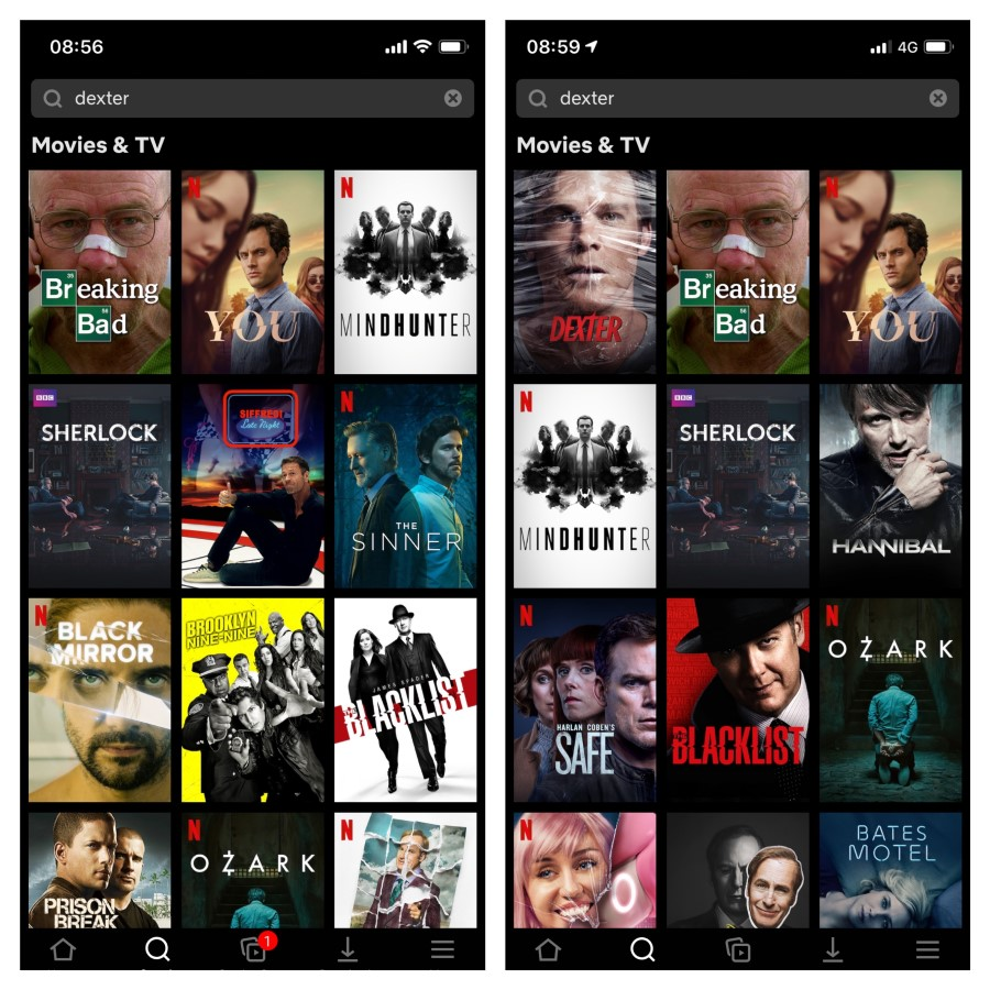 Netflix catalogue NordVPN