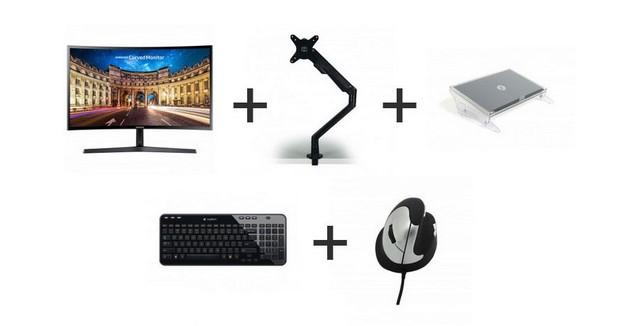 Kit ergonomique du télétravailleur