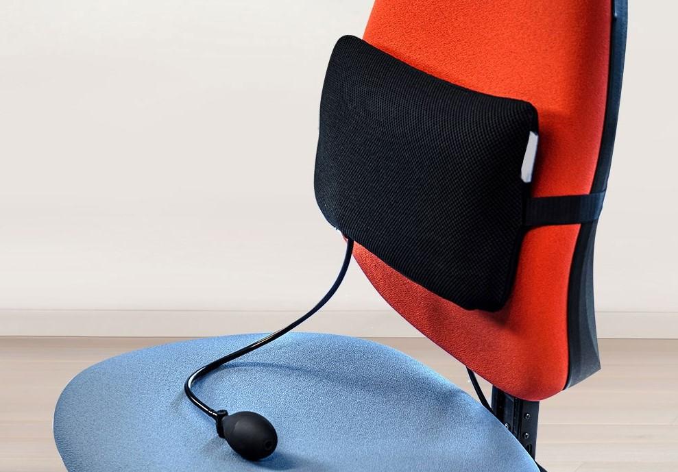 Soutien lombaire gonflable et ergonomique