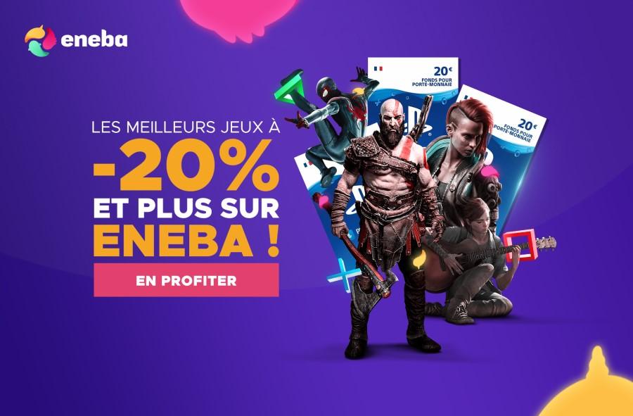 Promotions sur les meilleurs jeux avec eneba.com !
