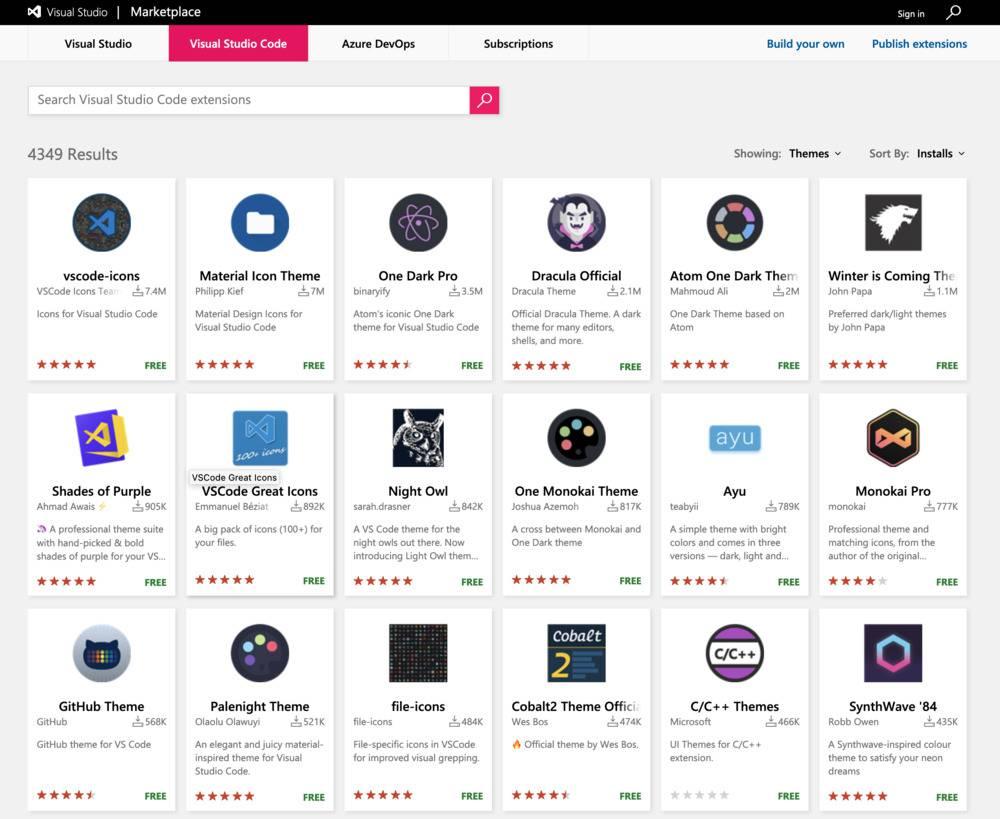 marketplace visual studio code