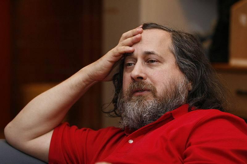 Richard M. Stallman qui réfléchit