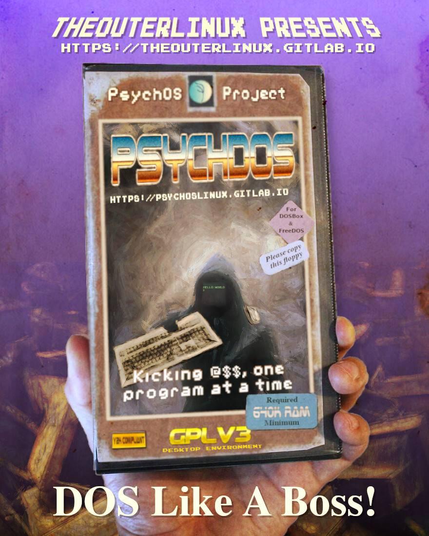 PsychOS – Le Linux retro compatible i486DX / i586 / i686 – Korben