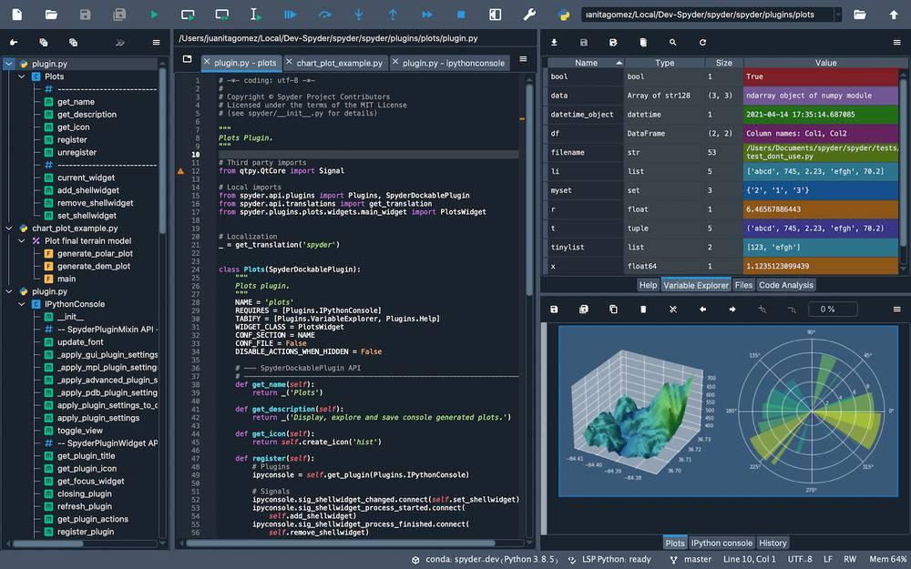Un environnement de développement scientifique en Python – Korben